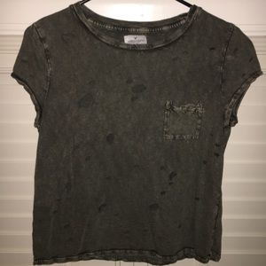 American Eagle Ripped Top